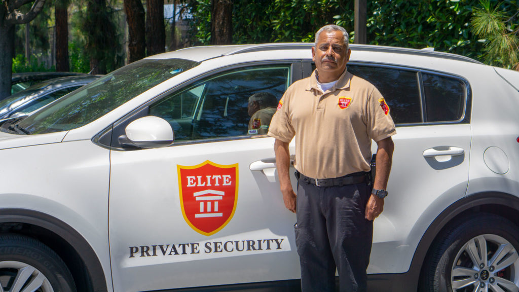 Elite Security Patrol Car with Armed Guard