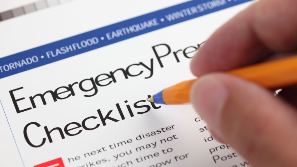 Emergency Readiness & Response Checklist